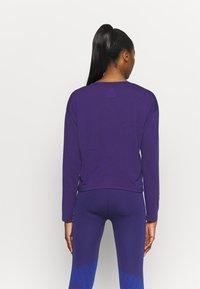 Reebok - SUPREMIUM LONG SLEEVE - T-shirt sportiva - purple - 2