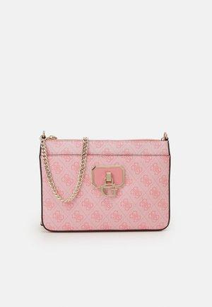 ALISA CROSSBODY TOP ZIP - Across body bag - pink