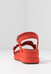 Tamaris - Platform sandals - flame - 5