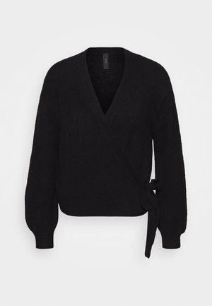 YASISABEL CARDIGAN - Kofta - black