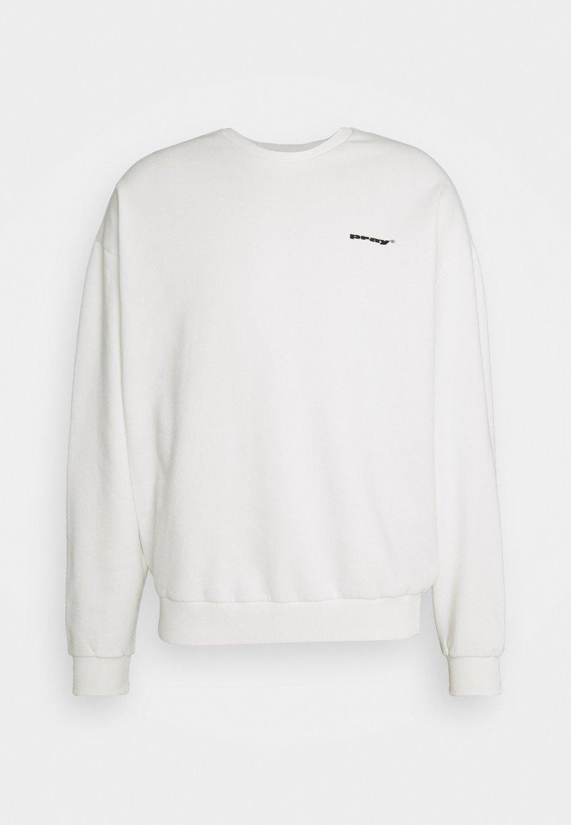 PRAY - AUGUST UNISEX - Sweatshirt - vintage ash