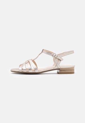 Sandals - puder