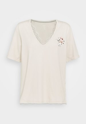 Print T-shirt - moon rock