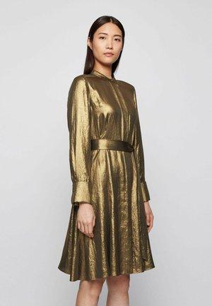 DEMRA - Day dress - dark yellow