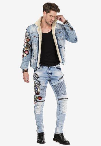 RIDE FORVER - Slim fit jeans - blue