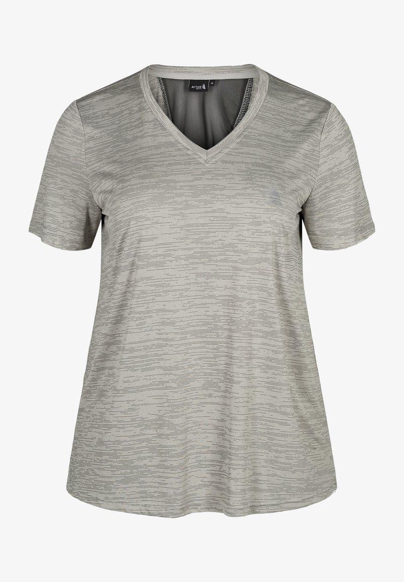 Active by Zizzi - Basic T-shirt - grey