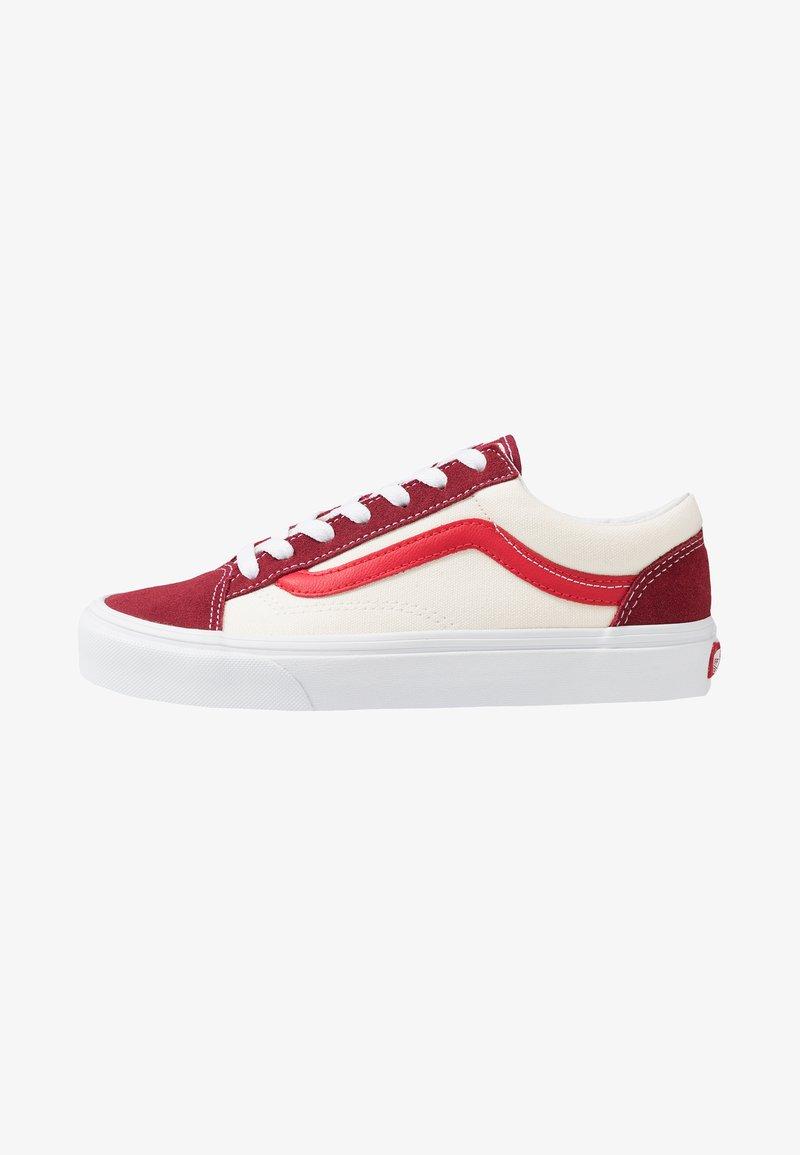 Vans - STYLE 36 - Sneakersy niskie - biking red/poinsettia