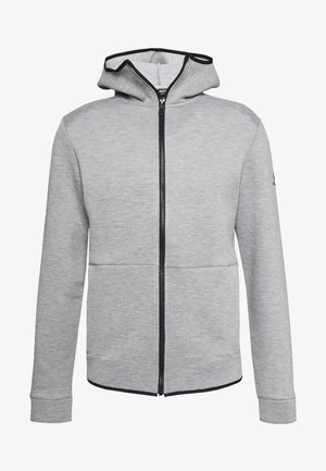 SIGHT HOODIE - Sweatjacke - medium grey/heather