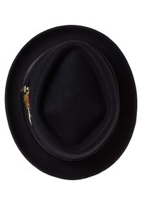 Brixton - STOUT PORK PIE - Chapeau - black/black - 5