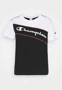 Champion - CREWNECK - Triko spotiskem - black - 3