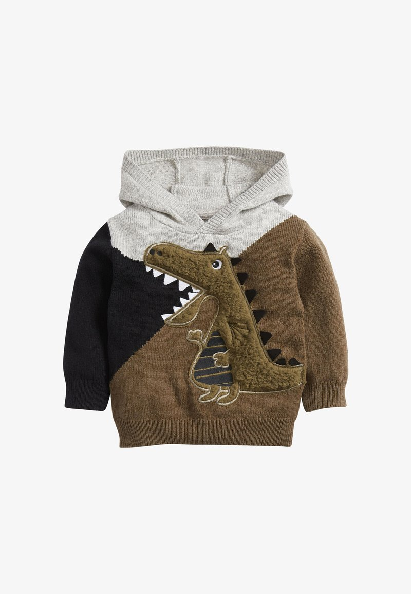 Next - COLOUBLOCK DRAGON  - Hoodie - grey