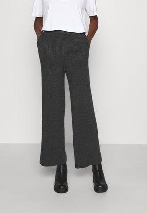 PISTACHIO EVERYDAY - Trousers - dark grey mel