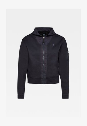 TRACK INDIGO LONG SLEEVE - Light jacket - rinsed