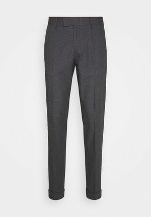 TILMAN - Trousers - med grey melange
