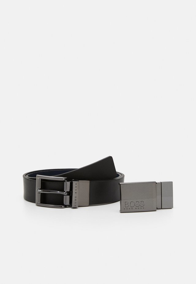 REVERSIBLE BELT - Gürtel - black