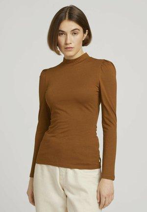 Longsleeve - amber brown