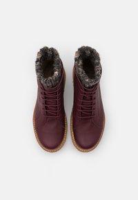 El Naturalista - PIZZARA - Platform ankle boots - soft grain brown/arena - 5