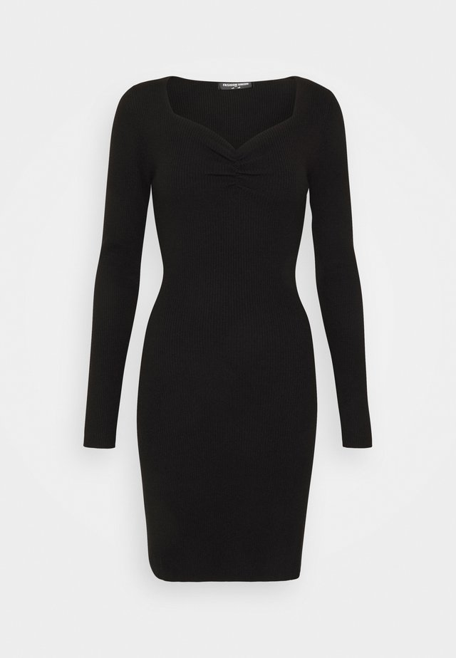OBERLIN - Jumper dress - black