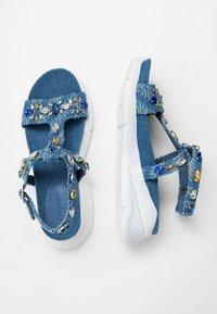Desigual - Sandales compensées - blue - 2