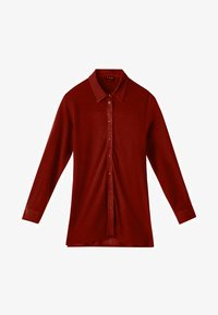 Massimo Dutti - Button-down blouse - red - 5