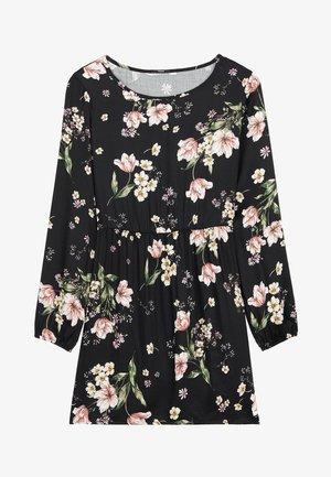 MIT SCHNÜRUNG - Day dress - nero st.floral bouquet