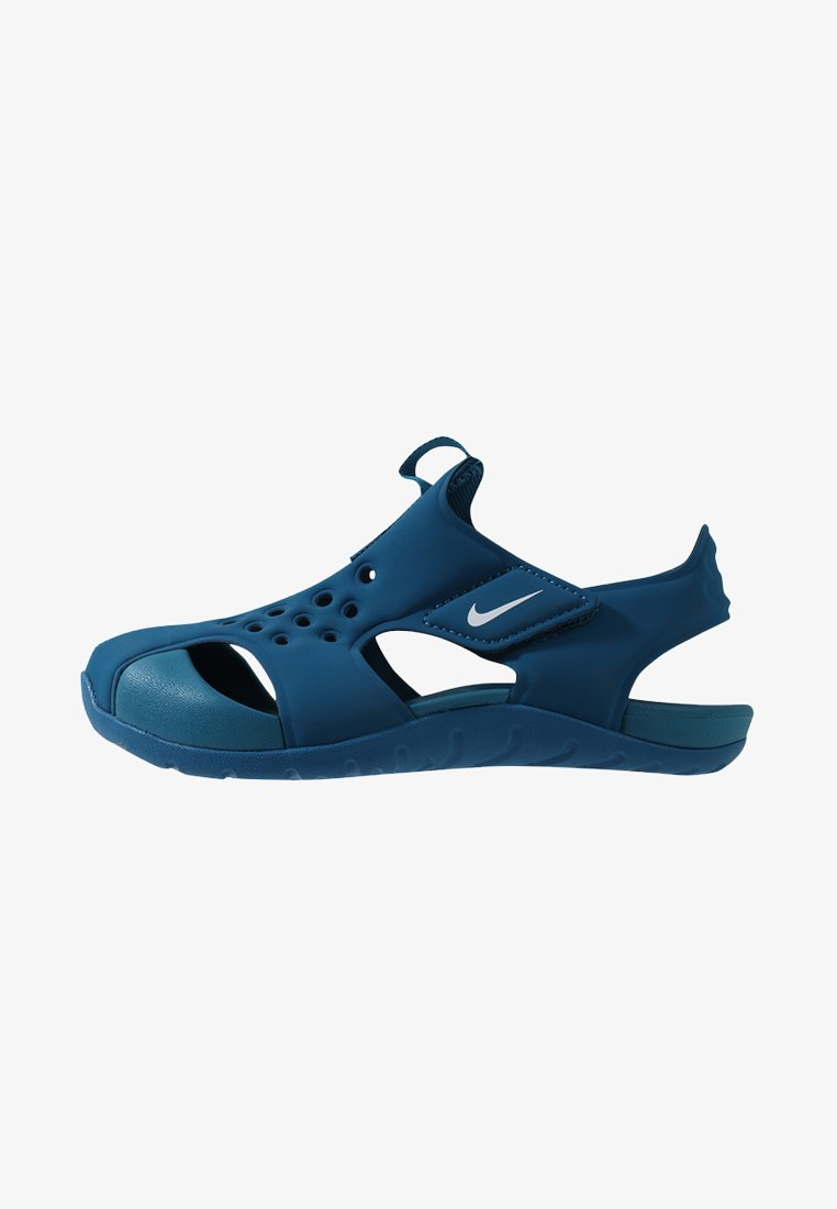 Nike Performance - SUNRAY PROTECT 2 UNISEX - Pool slides - green abyss/white