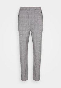 SUIT CHECK PANT - Kalhoty - grey