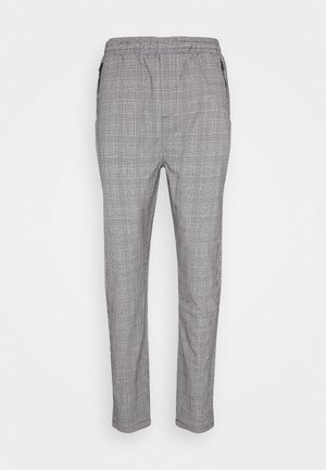 SUIT CHECK PANT - Stoffhose - grey