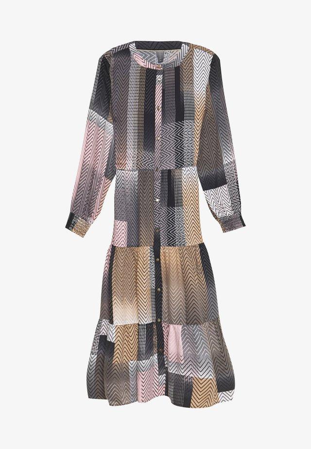 SAHAR LONG DRESS - Paitamekko - black