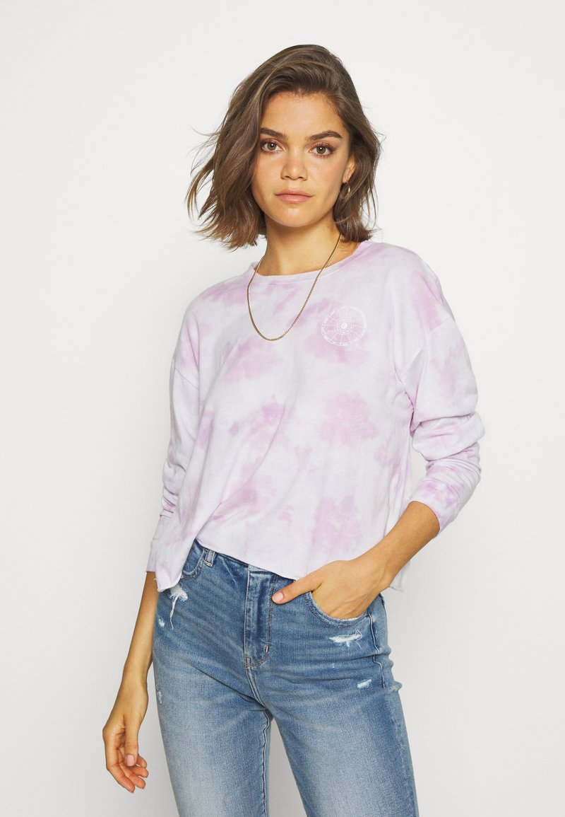 American Eagle - CELESTIAL COVE TEE - Long sleeved top - purple