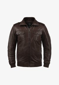 Solid - FAMASH - Veste en cuir - brown - 5