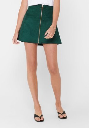 OTW - A-line skirt - pine grove
