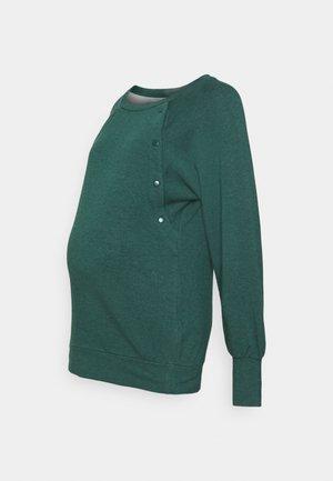 SNAP NURSING PULLOVER - Bluza - pine green
