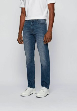 ALBANY - Straight leg jeans - blue