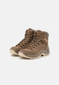 Lowa - RENEGADE GTX MID - Hiking shoes - sand/apricot - 1