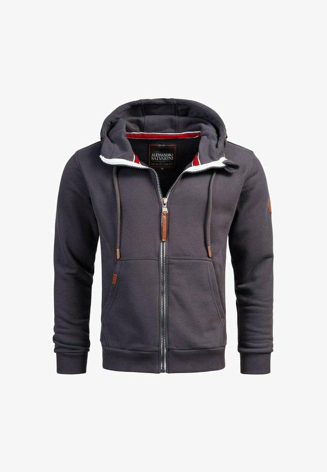 Zip-up hoodie - anthrazit