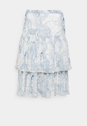 Áčková sukně - white/blue