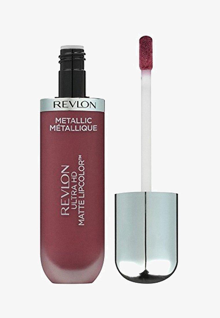 Revlon - ULTRA HD METALLIC MATTE LIPCOLOR - Liquid lipstick - N°705 hd shine