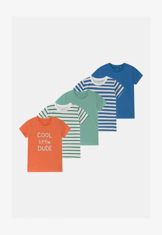 NBMBJARKE 5 PACK - Print T-shirt - melon