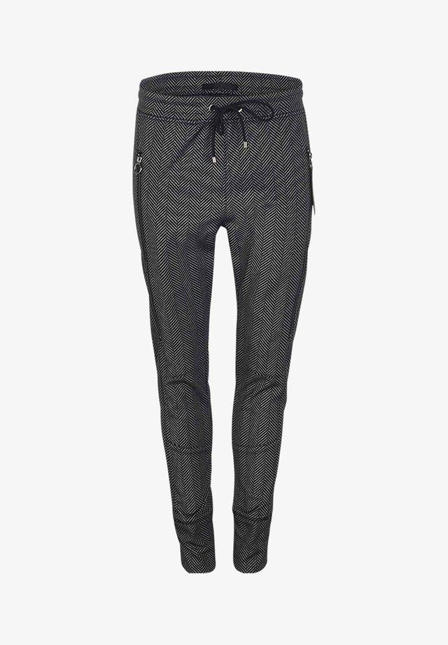 FUTURE - Trousers - BLACK\WHITE