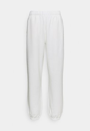 TROUSERS BY BARBARA KRISTOFFERSEN - Träningsbyxor - new white