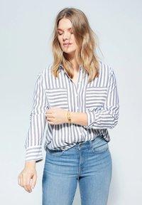 Violeta by Mango - SUSAN - Slim fit jeans - medium blue - 3