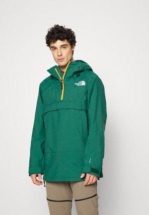 SILVANI ANORAK - Hardshell jacket - night green