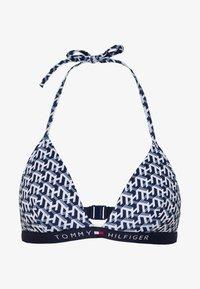 Tommy Hilfiger - CORE SOLID TRIANGLE FIXED - Bikini top - white - 3