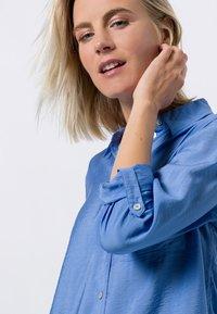 zero - Button-down blouse - viola blue - 3