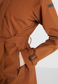 Bergans - OSLO COAT - Hardshell jacket - copper - 3
