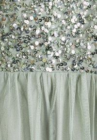 Maya Deluxe - BANDEAU EMBELLISHED DRESS - Cocktail dress / Party dress - soft sage green - 2