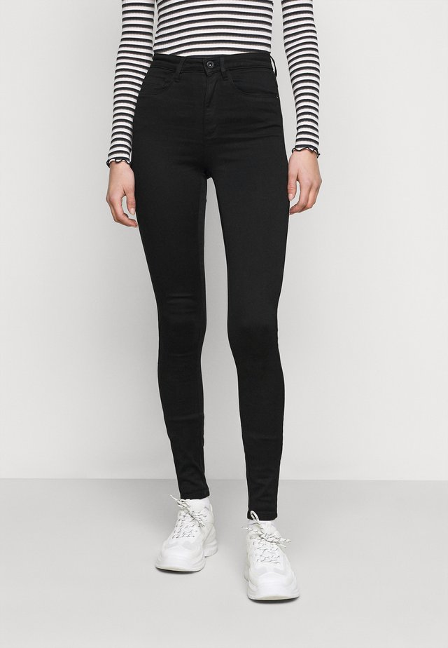ONLROYAL HIGH - Jeans Skinny Fit - black