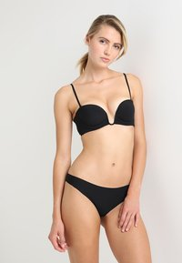 La Perla - PADDED BANDEAUX WITH WIRE - Stroppeløs-BH - black - 1