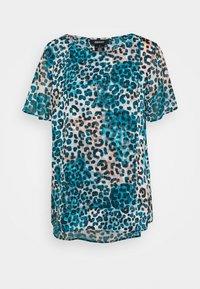 DKNY - Print T-shirt - ivory gemstone/black/multi - 3